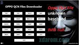 OPPO Qcn file