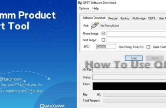 How to Flash Qualcomm Chipset Smartphone with QPST Tool