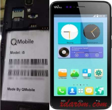 Qmobile i5 Flash File Firmware (MT6582) 100% Working Download