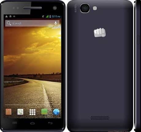 Micromax A120 Flash File