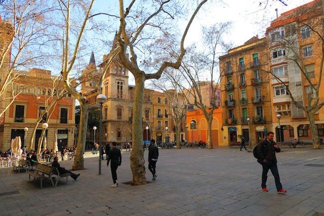 plaça de virreina barcelona