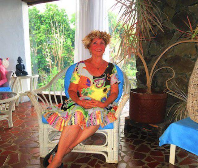 Gwen Owner Muri Beach Cottages Rarotonga Cook Islands