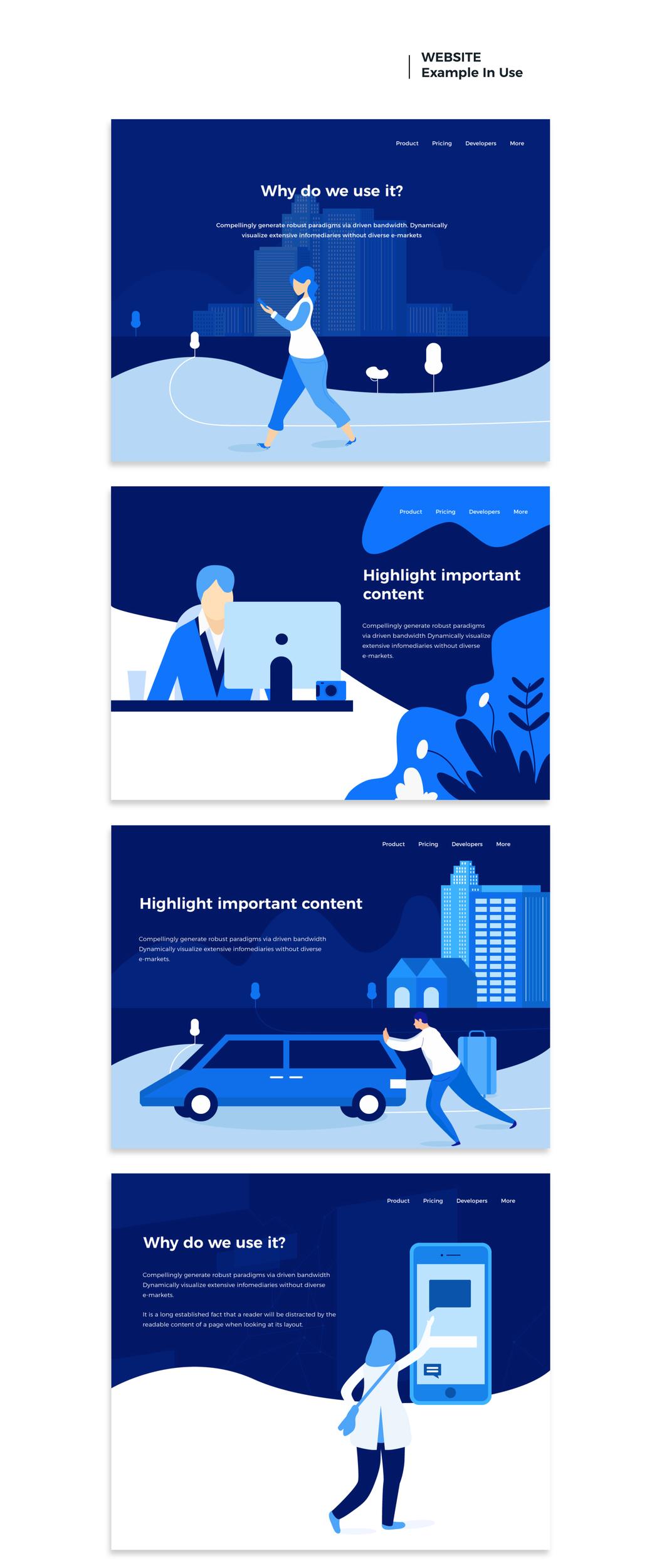 Dice Illustrations – Иллюстрации с мощной визуальной концепцией
