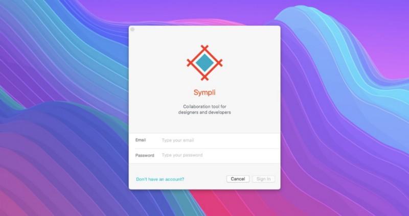Загрузите приложение Sympli для Adobe XD CC