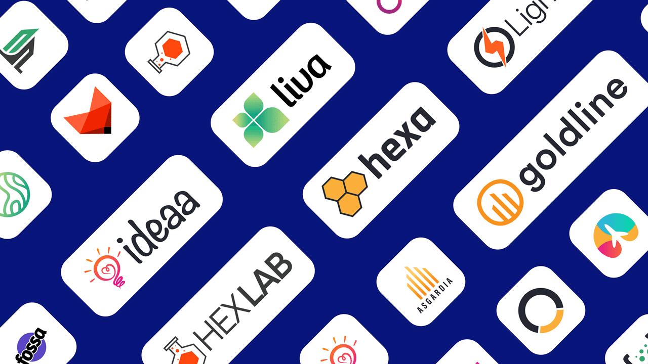 uiLogos – 25+ профессионально разработанных логотипа для дизайна макетов и презентаций