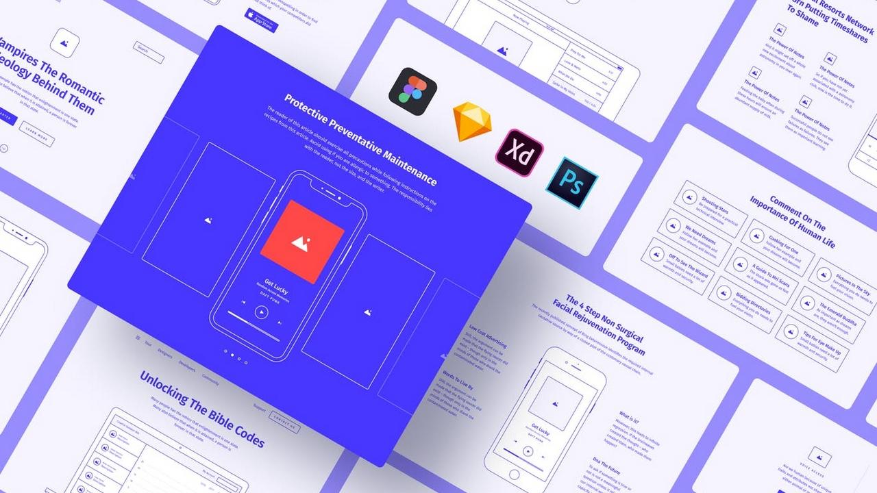 Method Wireframe Kit 2.1 – Найдите свой способ быть невероятно быстрым в действительно хорошем прототипировании