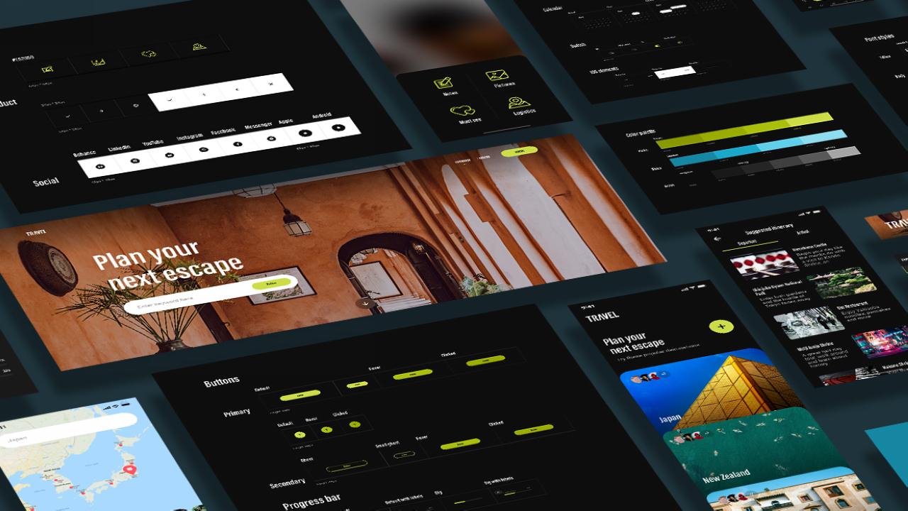 Внедрение систем проектирования в Adobe XD: легко создавайте, обменивайтесь, управляйте повтороно используемыми цветами, стилями и компонентами вместе с вашей командой