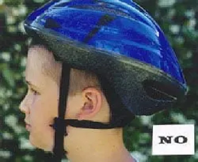How to wear a helmet correctly and safely
