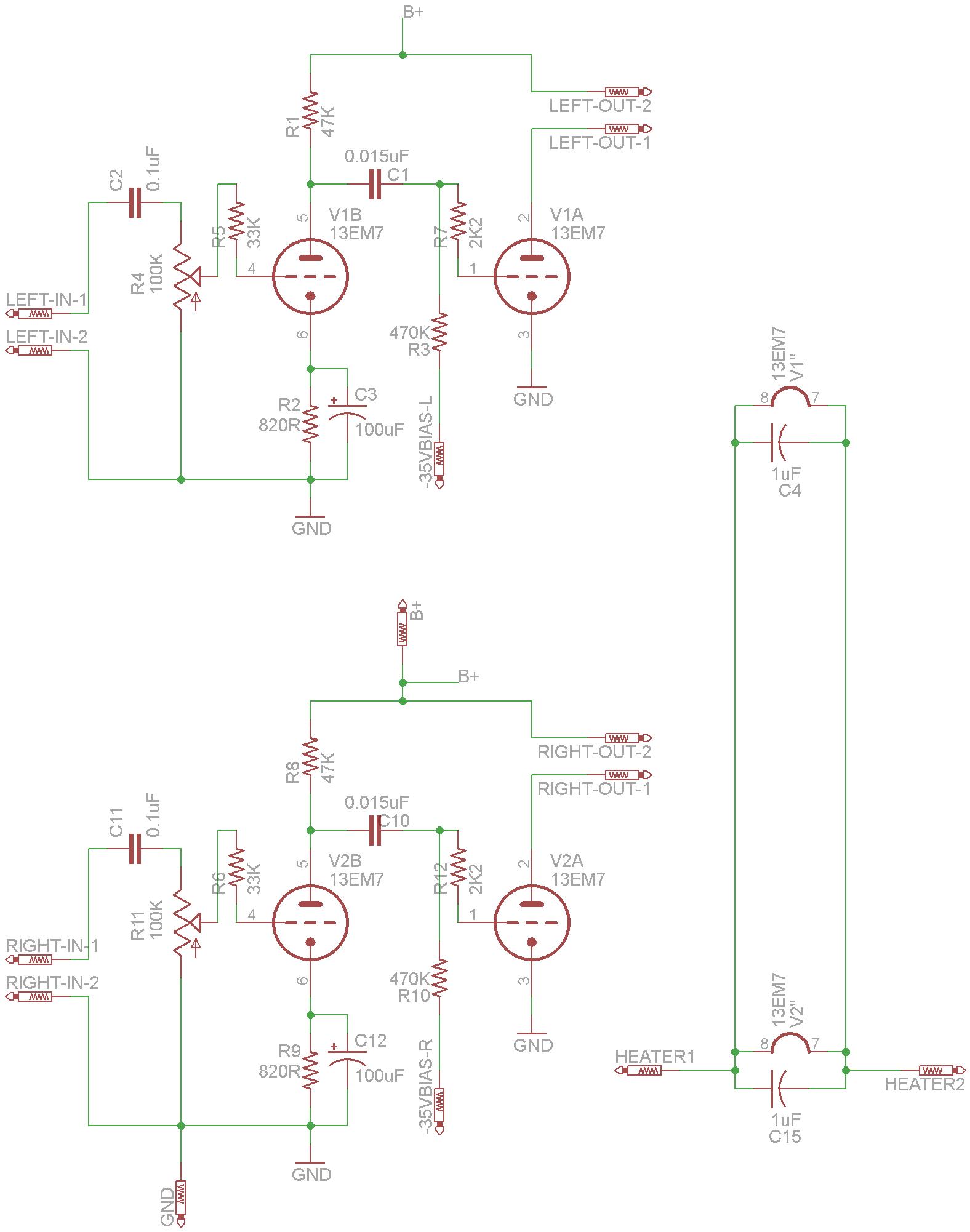 13em7 Tube Amplifier Daniel Kramnik S Project Log