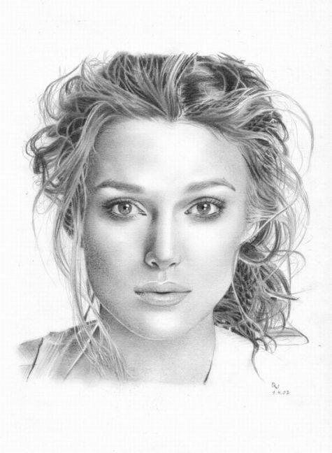 Sketches Keira Knightley