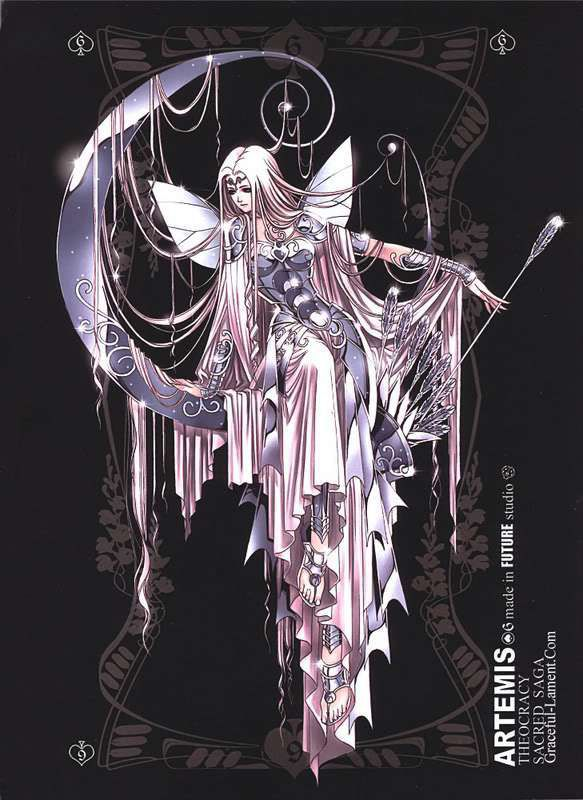 Thần bảo hộ cung Nhân mã - Nữ thần Artemis