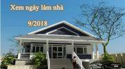 Xem ngày làm nhà tháng 9 năm 2018 – Ngày tốt động thổ xây nhà