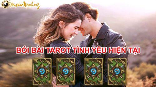 Bói bài Tarot tình yêu hiện tại