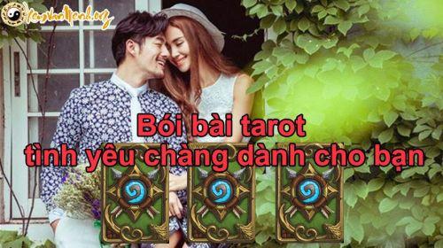Bói bài Tarot tình yêu chàng dành cho bạn