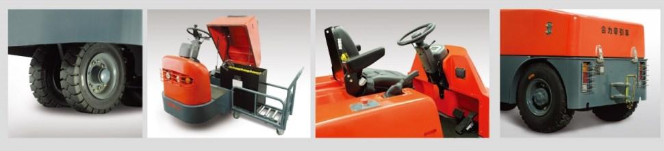 Các thiết kế đặc biệt của xe kéo điện heli 3 bánh