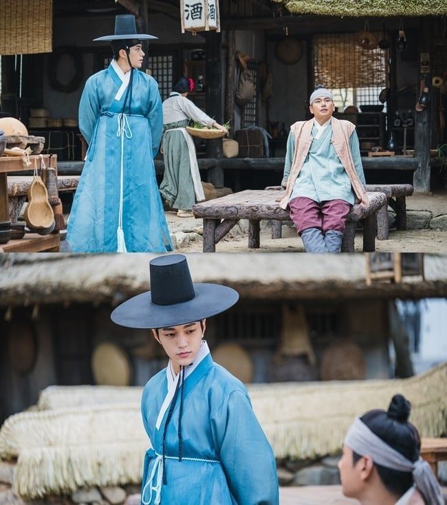 """Pic 1 - """"Secret Royal Inspector"""" has unveiled a new sneak peek of its three leads!"""