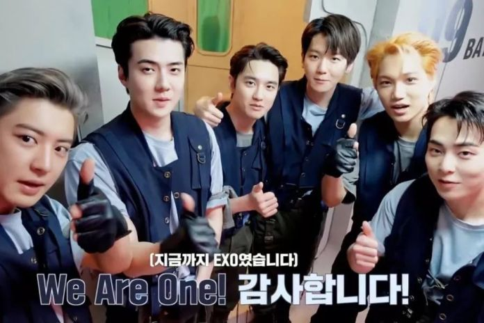 Cover - EXO rang on the ninth anniversary of their debut