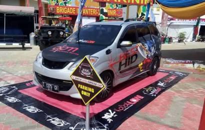 DXIC LAMPUNG & BEST HID Hadir diacara Lampung Fair