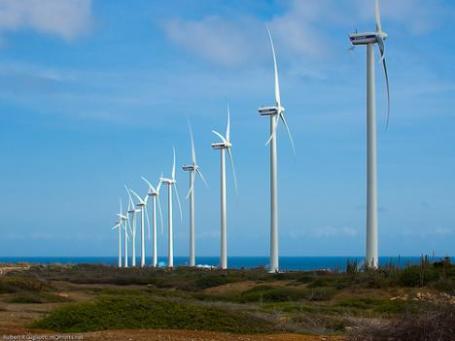 30MW Vader Piet Wind Farm, Aruba