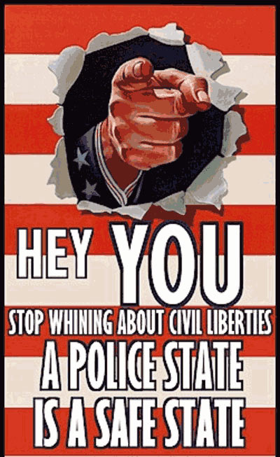 A police state is a safe state.