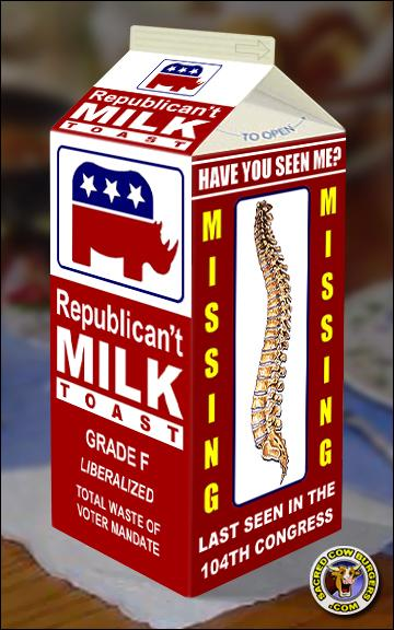 Missing Republican Backbone