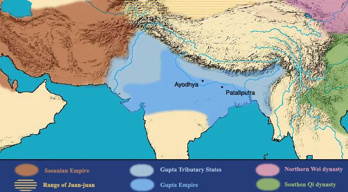 Gupta Empire.