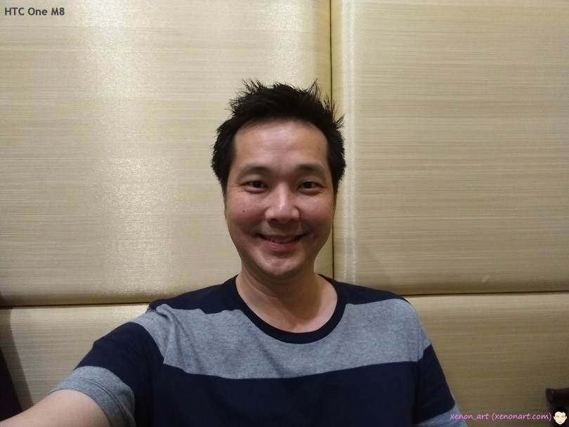 HTC M8_selfie
