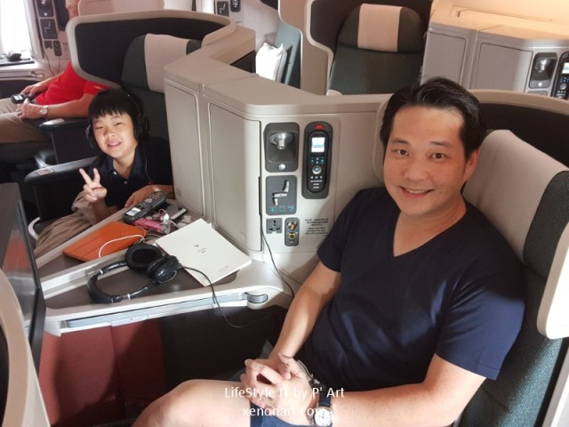 Review Cathay Pacific airline business class (118)