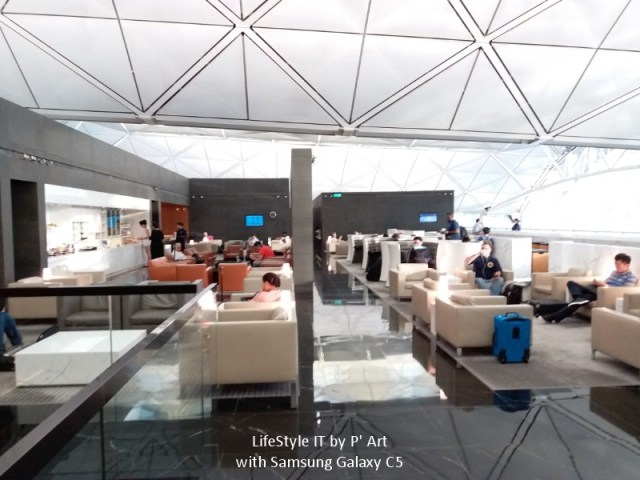 Review Cathay Pacific airline business class (38)