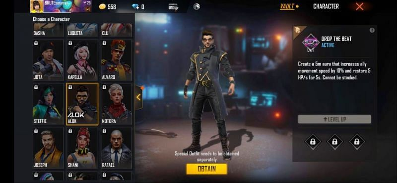 5 best active abilities for Free Fire ranked mode