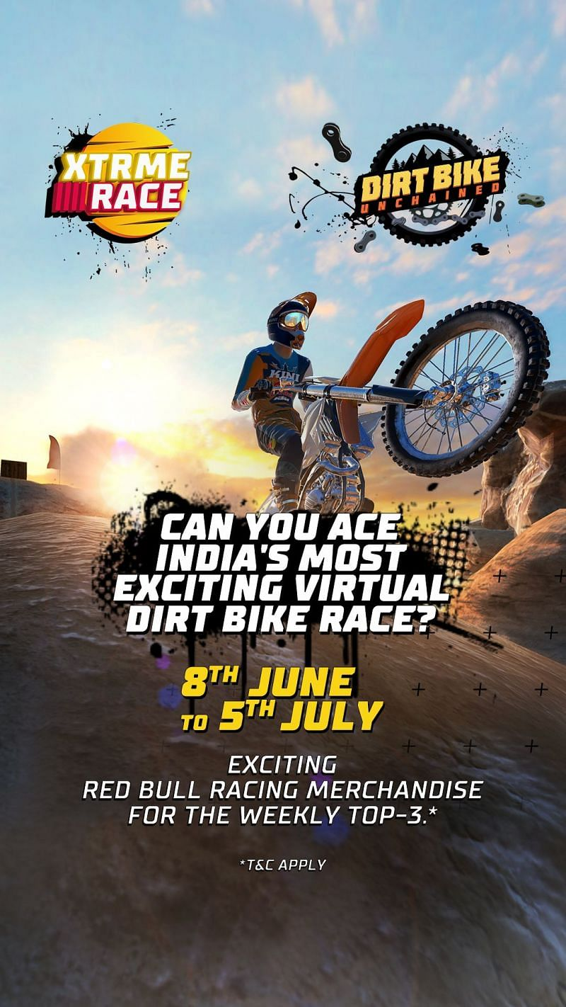 Red Bull Dirt Bike Unchained Xtrme Challenge poster