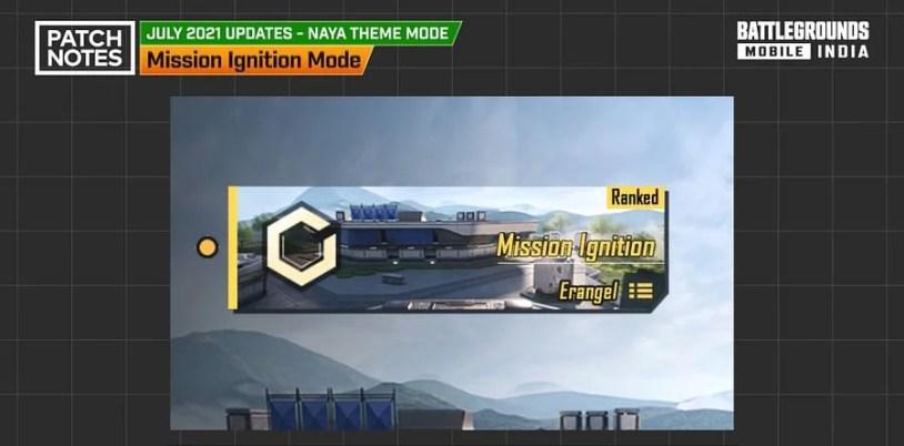 BGMI 1.5 Update - New Game Mode