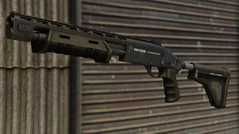 GTA Online Pump Shotgun MK II