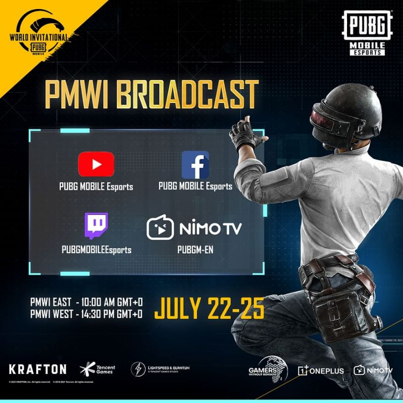 PMWI East and West will be broadcast in multiple languages
