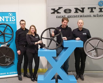 XeNTiS Carbon Wheel Technology ist neuer Partner des Pewag Racing Teams!