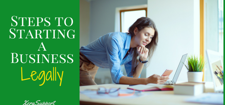 Steps to Starting a Business Legally