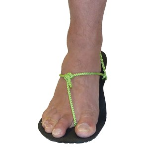 Minimalist Sandal Tying Style - Xero Hitch