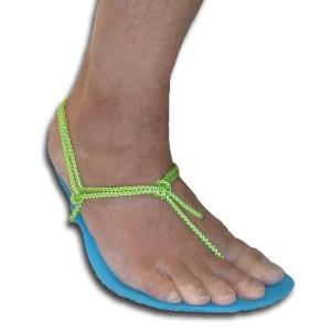 barefoot sandal tying -- Xero Basic