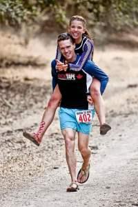 Ultra marathon runners Jon and Mel Sinclair