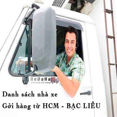 chành xe gửi hàng từ HCM đi Bạc Liêu