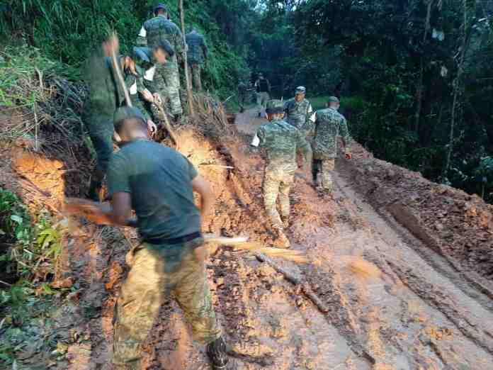 Lluvias por tormenta tropical ´Beta´ dejan dos muertos en Oaxaca e  inundaciones en Chiapas