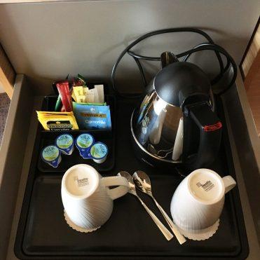 Hot drink facilities