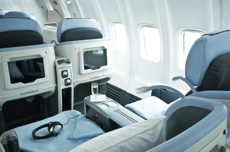 La Compagnie all-business class cabin interior