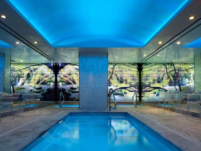 Swimming pool at The Chatwal, Luxury Collection, New York