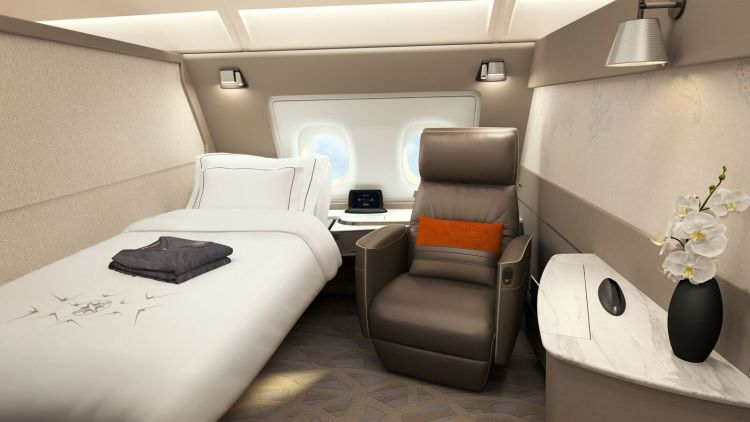 SQ A380 Suites preview