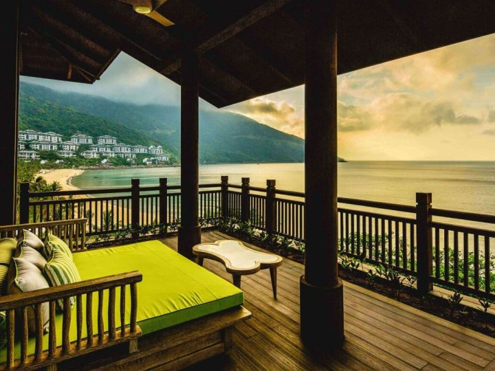 Outdoor decking at the InterContinental Danang