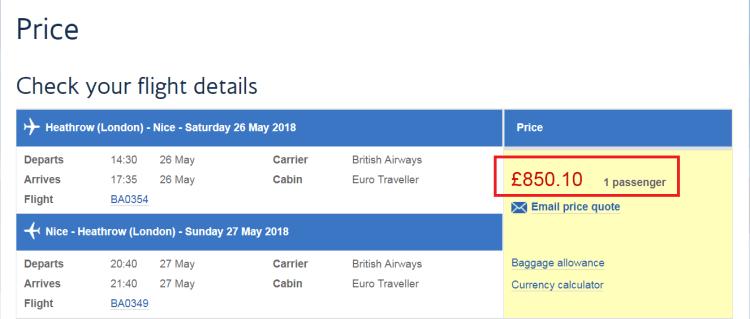 ba buy avios apr 18 pricing screenshot
