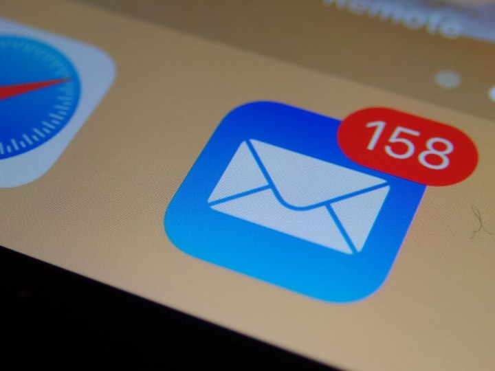 New email iOS icon
