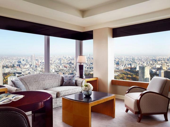Club Executive Suite at Ritz-Carlton Tokyo