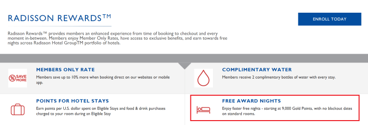 Radisson Rewards no blackout dates policy.png